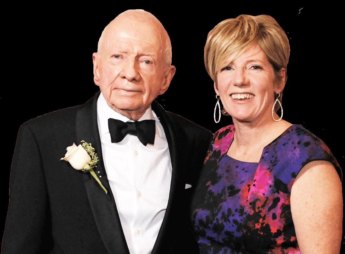 Robert and Christine Healey