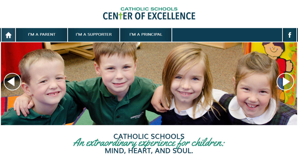 LOGO LEADERS catholic schools center of excellence